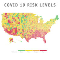 Covid-19 Risk Level Map