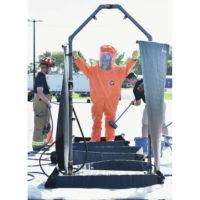 DQE Indestructo HazMat Shower Training